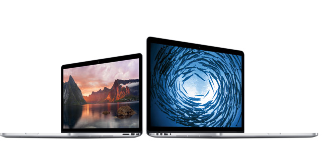 Apple MacBook Pro with Retina Display given a speed boost, prices slashed across the range