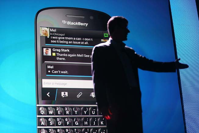 Monday is D-Day for BlackBerry