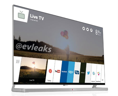 LG's webOS running smart TV leaked ahead of CES launch