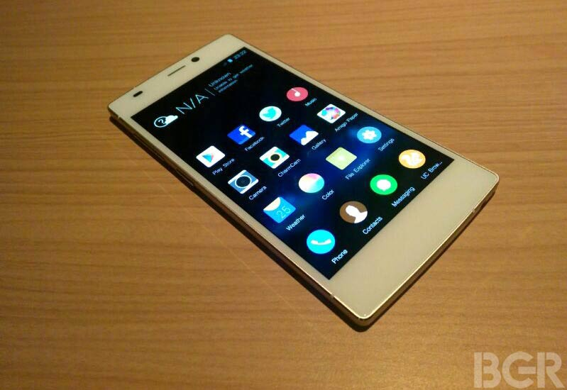 was gionee slim phone price in india the best