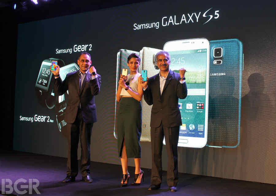 Samsung Galaxy S5 price in India between Rs 51,000-Rs 53,000