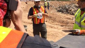 Atari Grave found: Diggers find E.T. game cartridges buried in a New Mexico landfill