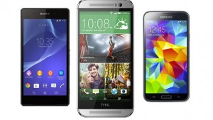 HTC One (M8) vs Samsung Galaxy S5 vs Sony Xperia Z2: Battle of the flagships