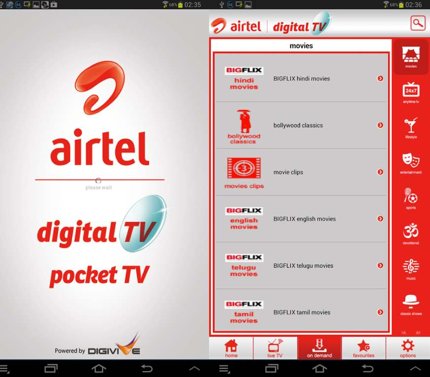 Airtel Pocket TV launched: An Android app to watch live TV on the go