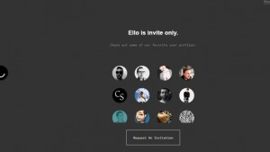 One out of every four user remains active on Ello after signing-up: Report