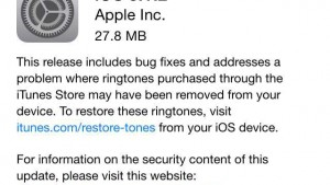 iOS 8.1.2 update released for iPhones, iPad and iPod touch