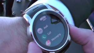 CES 2015 Live: LG unveils webOS-powered beautiful smartwatch with Audi