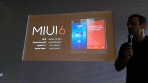 Xiaomi announces timeline of MIUI 6 roll out for Redmi Note, Redmi Note 4G, Mi 3 and Redmi 1S in India