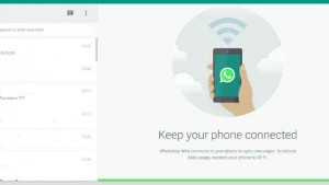 5 things that WhatsApp Web cannot do