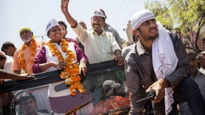 Delhi elections 2015 results: Twitterati hail AAP victory, take digs at Narendra Modi