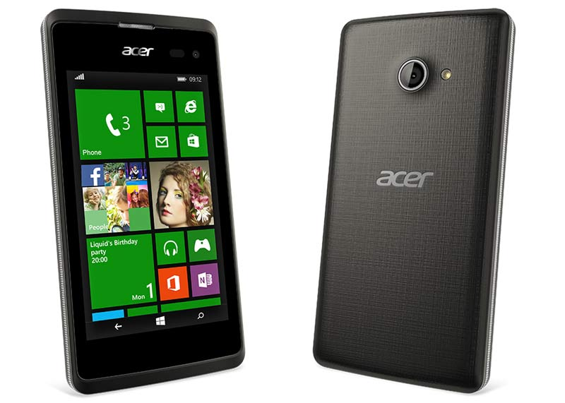 mwc 2015 acer liquid m220 affordable windows phone 8 1 smartphone announced. Black Bedroom Furniture Sets. Home Design Ideas