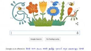 Google wishes Navroz Mubarak with a colorful doodle
