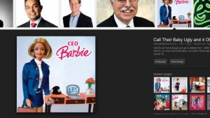 On Google Images, the most influential woman CEO is Barbie