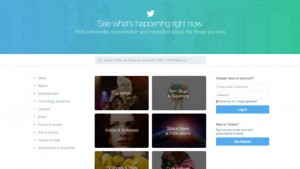 Twitter rolls out a new homepage for users who are not logged in