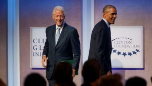 Barack Obama and Bill Clinton trash talk on Twitter just like the rest of us