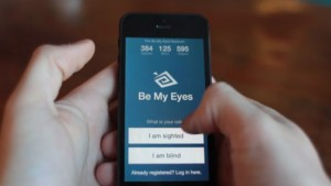 Be My Eyes app to help visually-impaired in day-to-day chores