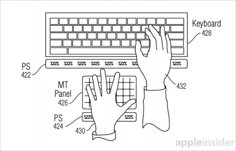 Apple patents touchless-typing for future iPhones, iPads and Macs