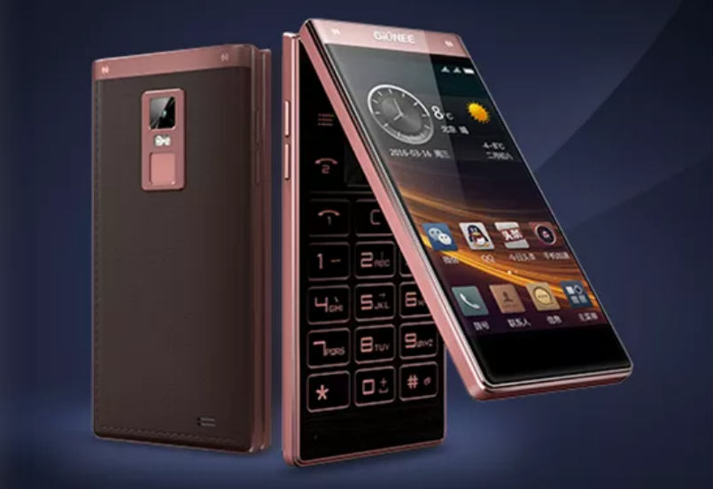 Gionee W909 is the world's first flip smartphone with fingerprint sensor, dual touchscreen displays: Specification and features