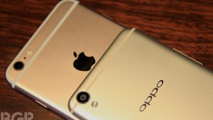 Oppo F1 Plus vs Apple iPhone 6s Plus: Design comparison