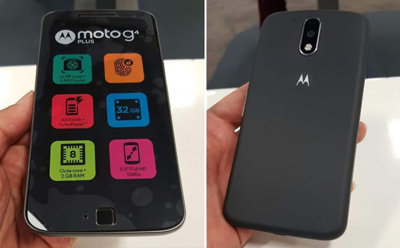 Moto G4 Plus specifications, features confirmed via leaked retail box hours ahead of launch