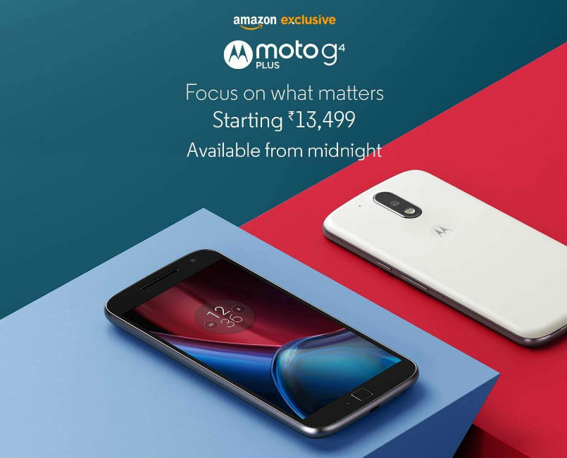 Motorola Moto G4 Plus to go on sale starting midnight; check out the launch offers on Amazon India