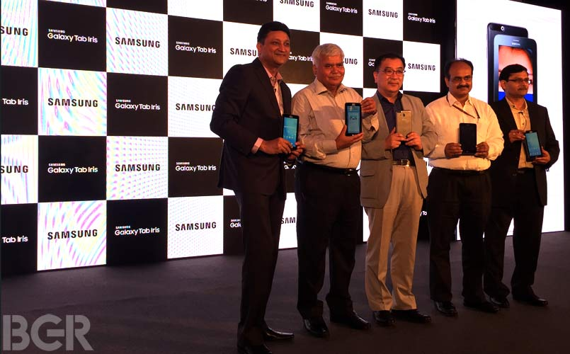 Aadhaar compliant Samsung Galaxy Tab Iris with iris scanner and launched in India: Price, specifications, features