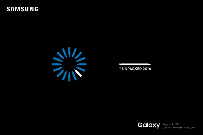 Samsung sends out media invites for Galaxy Note7 launch on August 2