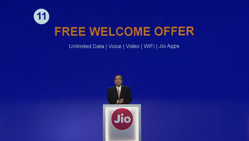 Reliance Jio Welcome offer- Jio AGM