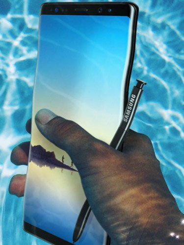 Samsung Galaxy Note 8 Water resistance