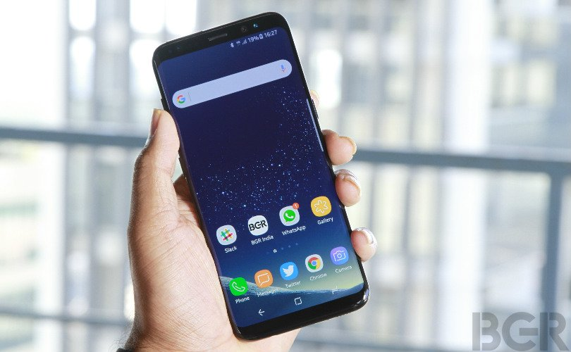 samsung galaxy s8 review lead