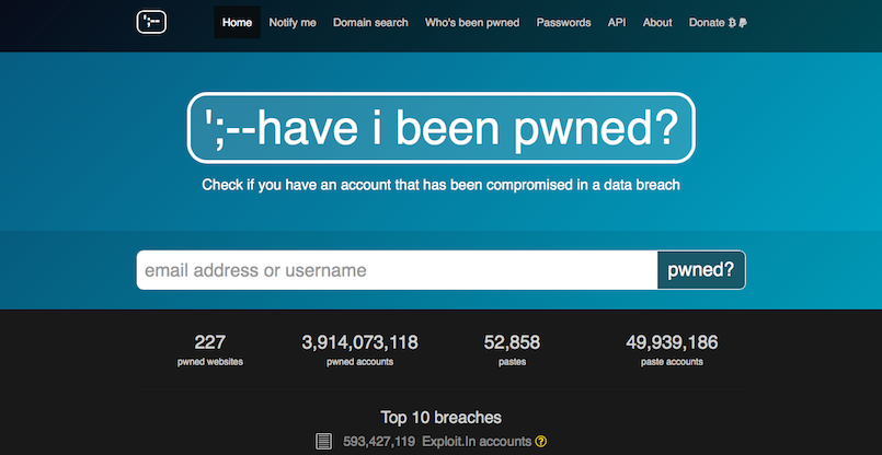 Have I Been Pwned Seriös