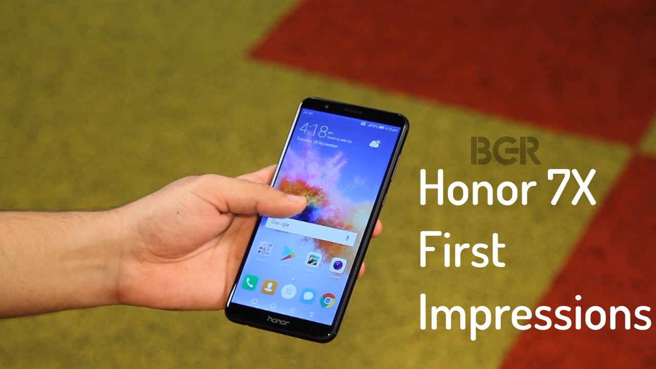 best sneakers 12bae 188a4 Huawei Honor 7X First Impressions