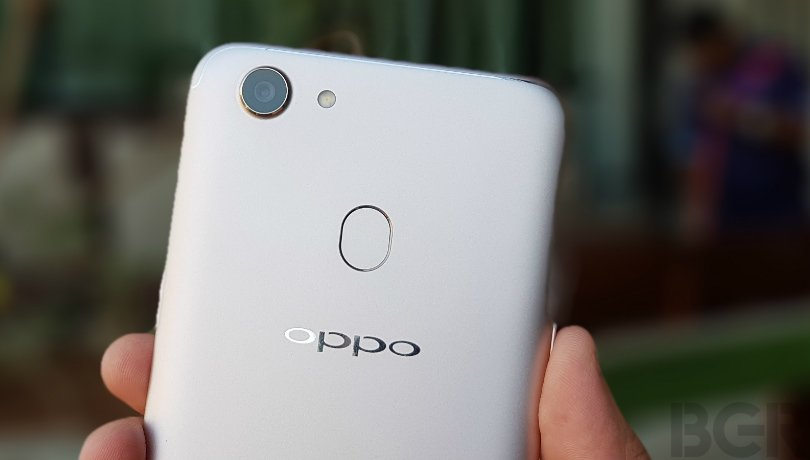 oppo f5 review rear camera