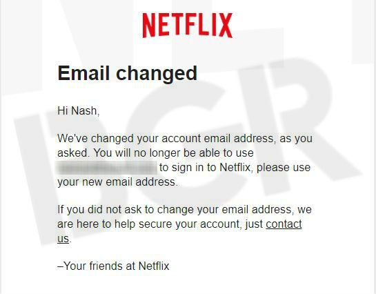 My Netflix account was hacked, I'm concerned and you must be too