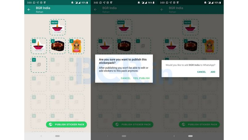 WhatsApp stickers: Now you can use your images and selfies to create