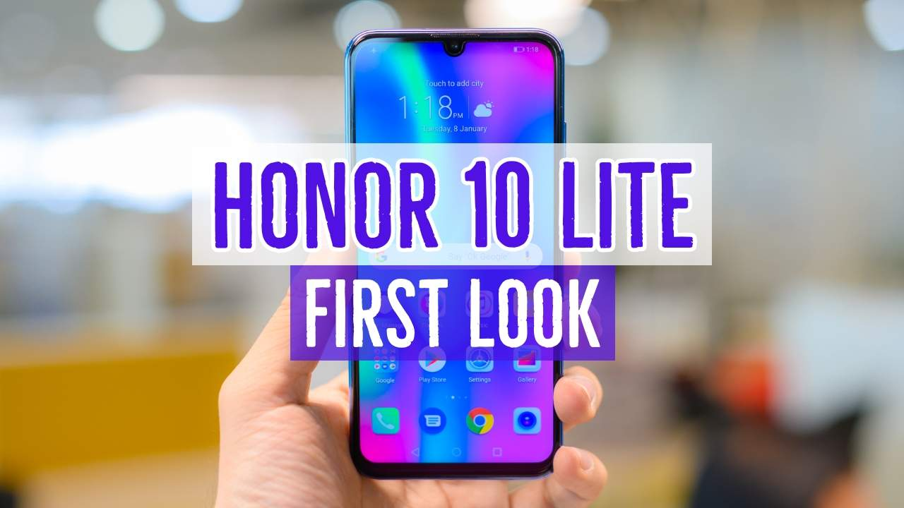 Honor 10 Lite Review: Style and performance to fit your