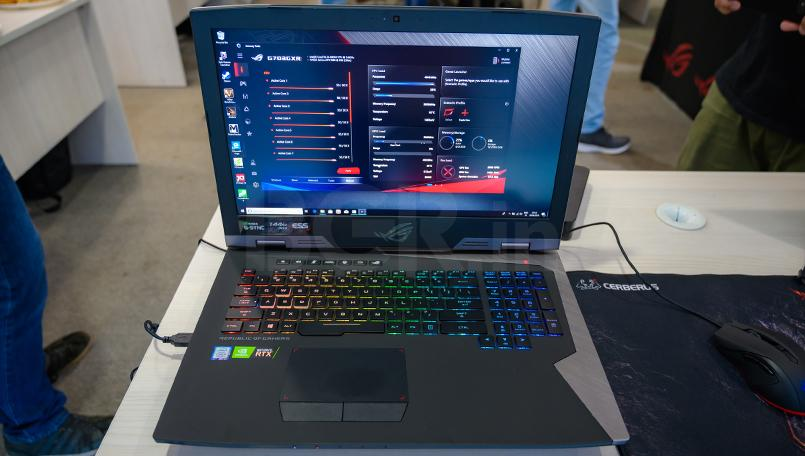 Asus ROG G703 First Impressions Armoury Crate