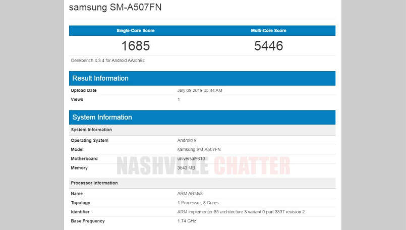 samsung, samsung galaxy a50s, galaxy a50s geekbench, galaxy a50s price in india, galaxy a50s specifications