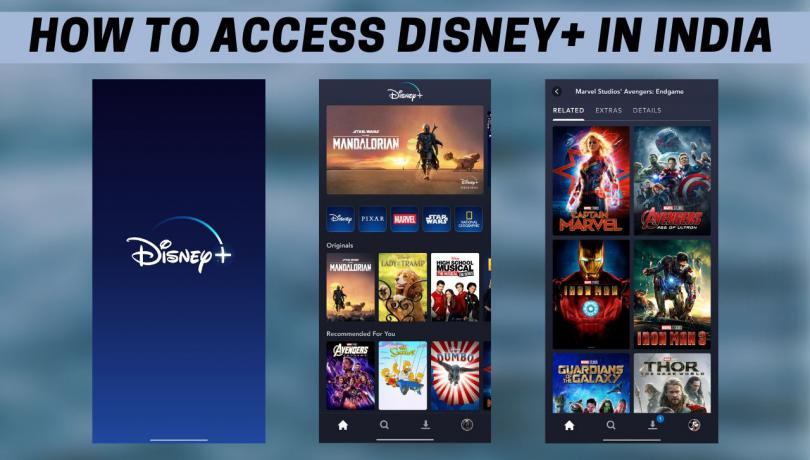 How to access Disney+ in India